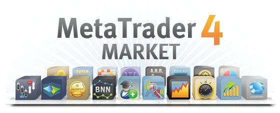 Логотип MetaTrader Market