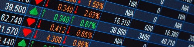 Торговая доска котировок базовых активов