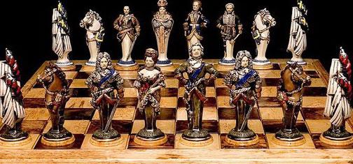 Шахматная доскак - как илюстрация тактики торговли на бинарных опционах