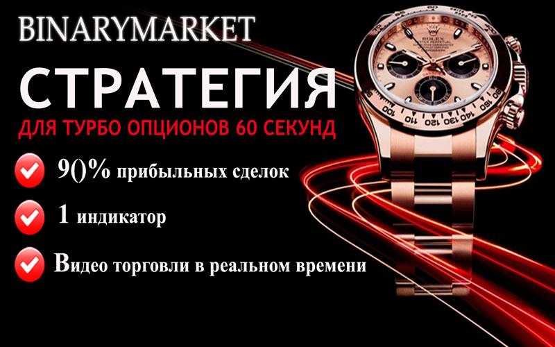 Стратегия для турбо опционов BinaryMarket